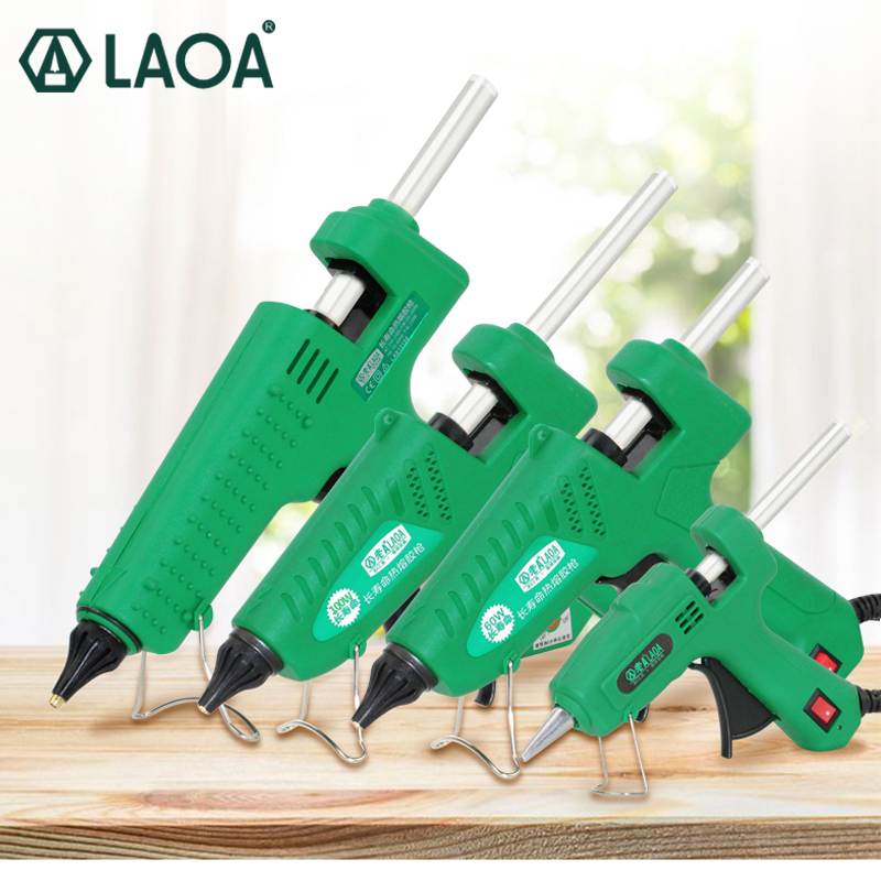 LAOA Glue Gun High Quality Industrial Hot Melt Glue With Free Sticks