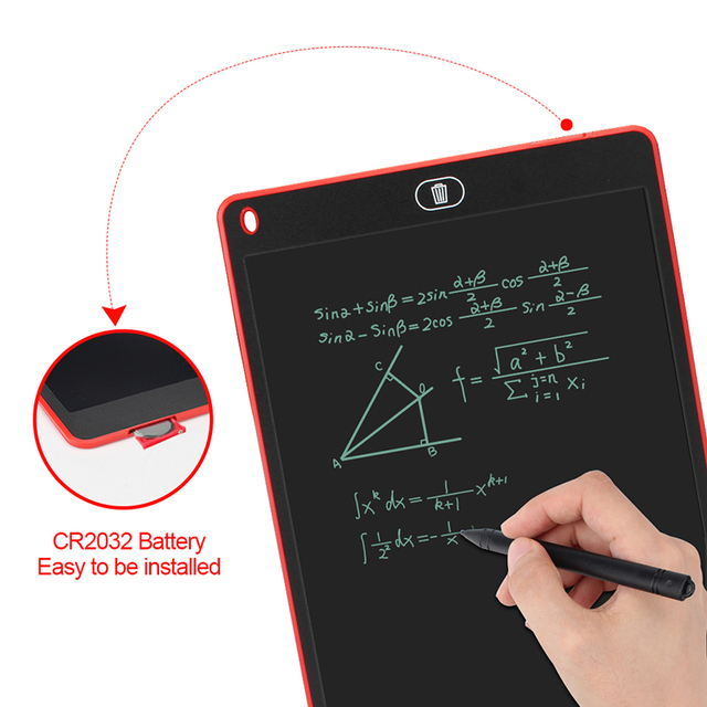 Graphics Tablet Electronics Drawing Tablet Smart Lcd Writing Tablet Erasable Drawing Board 8.5 12 Inch light Pad Handwriting Pen 5
