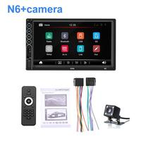 7 Inch Bluetooth Stereo Radio Touch Screen Player 2 Din HD Mp5 Player Supports For IOS/ Android Phone Mirror Connection Car MP5