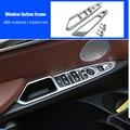 Для BMW X5 F15 2014-2018 ABS Хромированная оконная Кнопка рамка 4 шт.