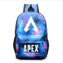 Apex Legends Noctilucent Backpack Shoulder School Bag Noctilucous Backpack Student Luminous Notebook Bags marilyn manson rock band school bag noctilucous backpack student school bag notebook backpack daily backpack