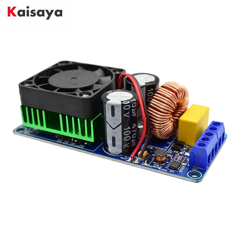 HIFI Power IRS2092 500W Mono Channel Digital Power Amplifier Board Class D Stage Power Amplifier Board I3-007