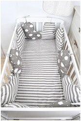 Paquet de literie de style nordique | Berceau, lit à proximité du nuage, lit de bébé autour du lit de bébé