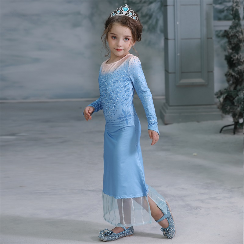 H0d09fde1c18d4b04b9532eff5d7c686c7 2019 Children Girl Snow White Dress for Girls Prom Princess Dress Kids Baby Gifts Intant Party Clothes Fancy Teenager Clothing
