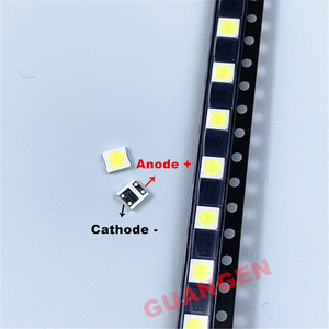 Image 3 - 200 PCS replace FOR LG Innotek LED LED Backlight 2W 6V 3535 Cool white LCD Backlight for TV TV Application LATWT391RZLZK