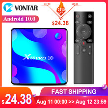 VONTAR X88 PRO Android 10.0 Smart TV Box Android 10 4G 64GB 32GB TVBOX Rockchip RK3318 BT4.0 youtube 4K Set Top Box Media Player(China)
