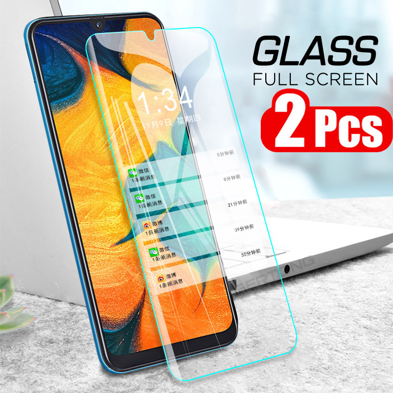 2Pcs Full Cover Tempered Glass For LG Q60 K50 V50 G8 G8S G8X Thinq K50S K40 K40S Q70 Q7 Q9 Screen Protector Protective Film Case