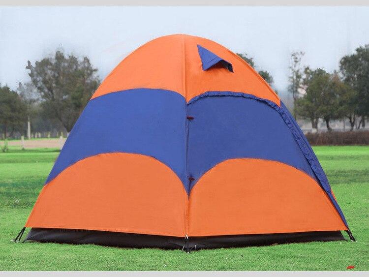Mongolian Yurt Tent Fishing Mosquito Net Picnic Family Outdoor Camp Summer Beach Camping Tent 5 Person Waterproof (16)