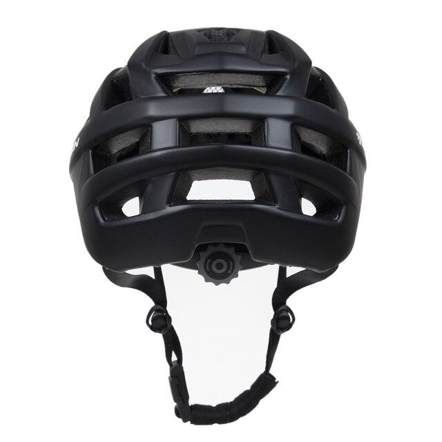 Mtb ciclismo capacete fora de estrada de montanha estrada capacete da bicicleta com viseira downhill racing equitação ao ar livre capacete de proteção casco ciclismo 4