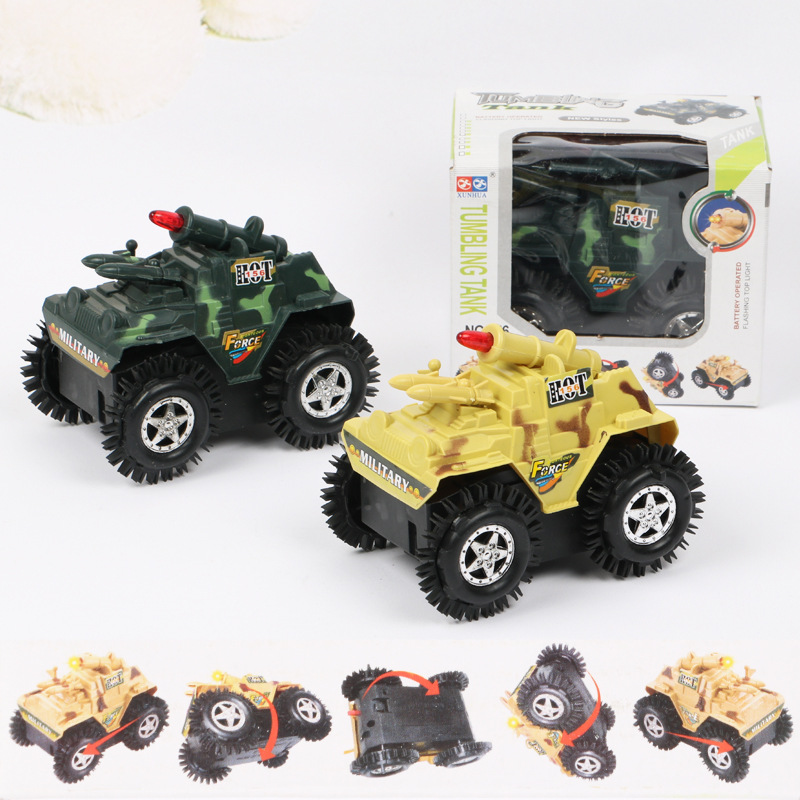 CHILDREN'S Electric Toy Car Electric Tilting Car Toy Shining Tilting Stunt Car Wholesale Hot Selling