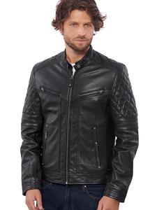 Image 3 - Vinas marca europeia dos homens premium buffalo jaqueta de couro para homens inverno real couro da motocicleta jaquetas motociclista bravo