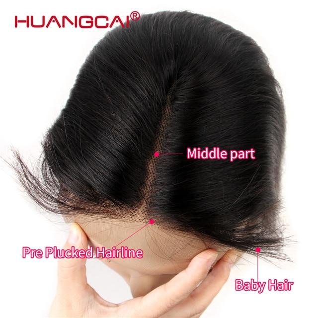 Brazilian Lace Closure Straight Human hair  2