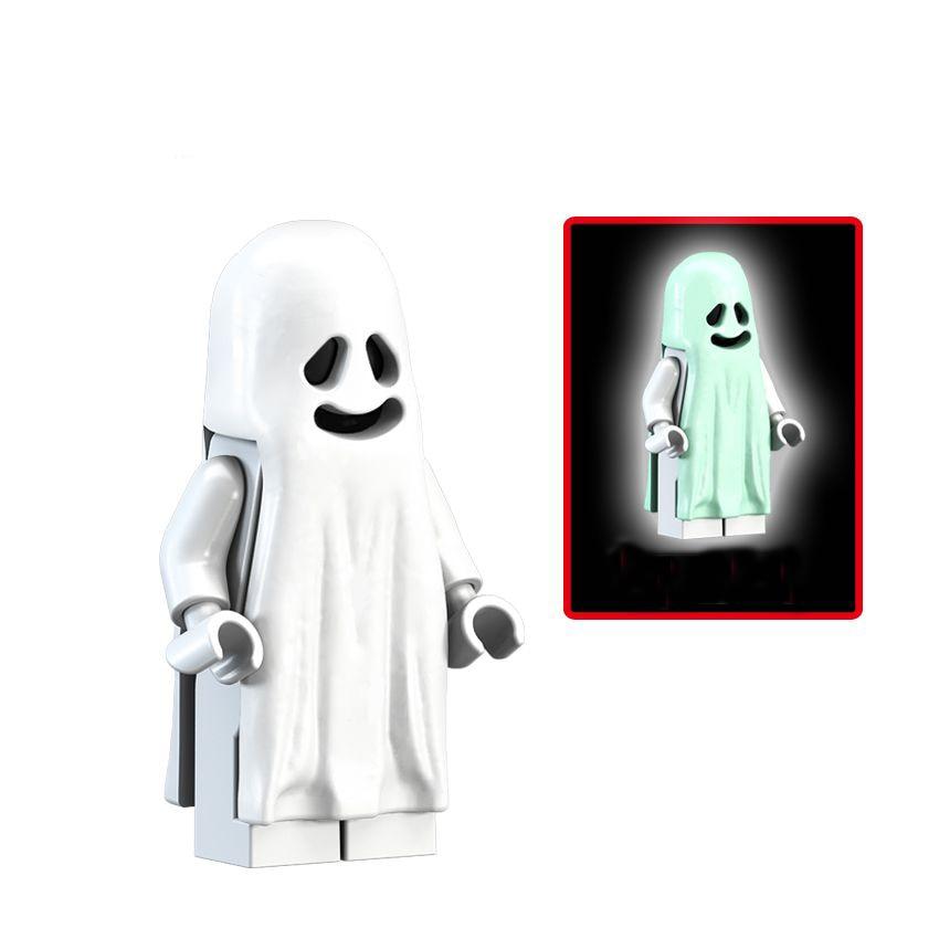 Building Blocks Super Heroes Figures Toy Ghost Halloween Monster Warrior Models DIY Bricks Children Gift Toys