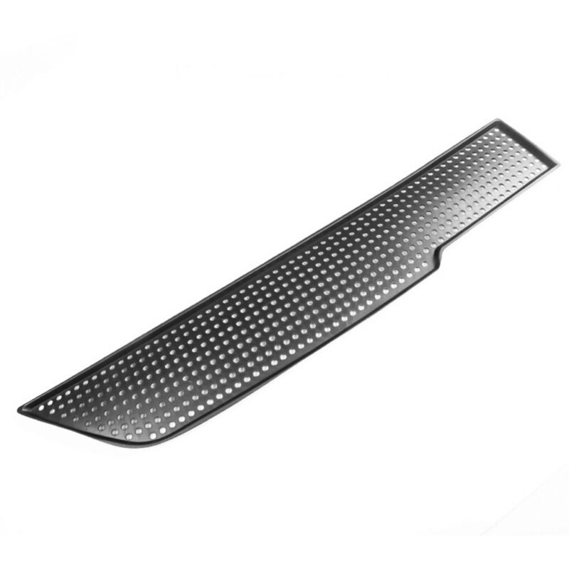 1 Piece Decoration Air Flow Vent Cover Trim Accessories ABS Black Decal Replacement Car Interior