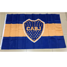 90*150cm argentyna Boca Juniors rozmiar ozdoby choinkowe flaga