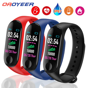 Sport M3 Pro Smart Watch Smart Band for Women Men Blood Pressure Monitor Smart Wristband
