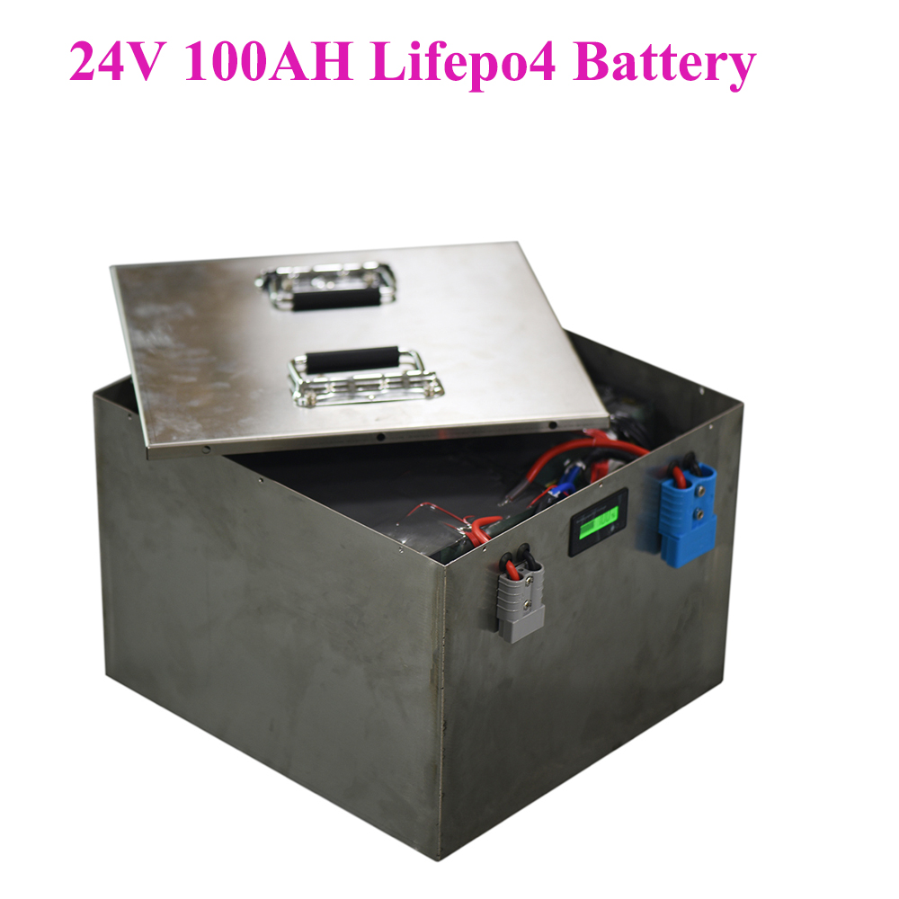 <font><b>12v</b></font> <font><b>100ah</b></font> <font><b>lifepo4</b></font> <font><b>battery</b></font> pack for DC system RV Boat home solar power energy storage system image