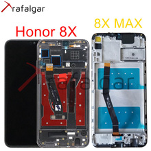 トラファルガーディスプレイhuawei社の名誉8X lcdディスプレイJSN L21 L22タッチスクリーン名誉8X最大表示フレームと交換ARE AL00