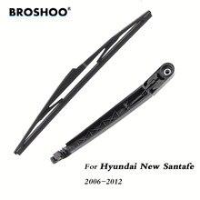 BROSHOO – bras d'essuie-glace arrière de voiture, style pare-brise, pour Hyundai New Santa Fe Hatchback (2006 – 2012)355mm