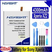HSABAT LIP1655ERPC 4300mAh Bateria para SONY Xperia XZ2 PF22 SO-03K SOV37 702SO H8296 H8216 Baterias