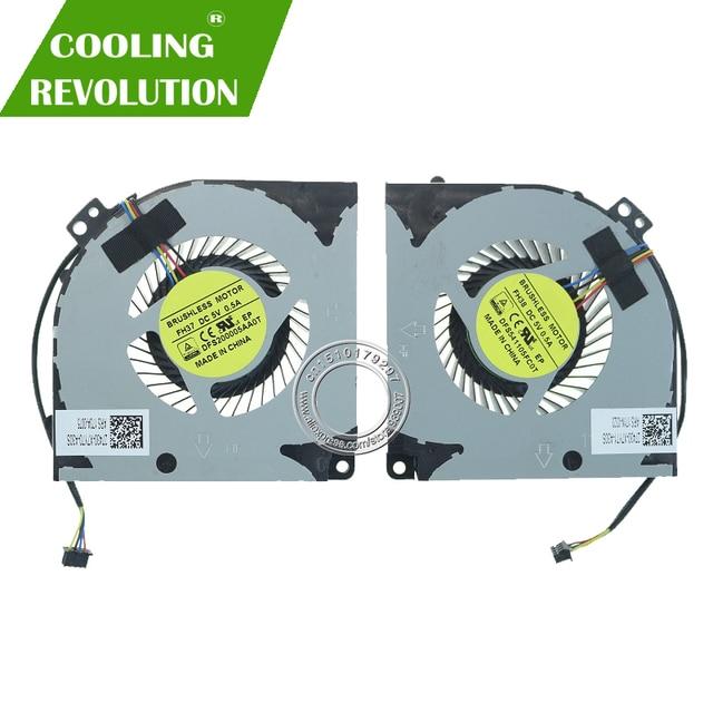Ventilador de refrigeração do processador central do portátil gpu para gigabyte aorus x7 x7 v2 x7 v6 27430 x7y70 a30s 27430 x7y71 a30s