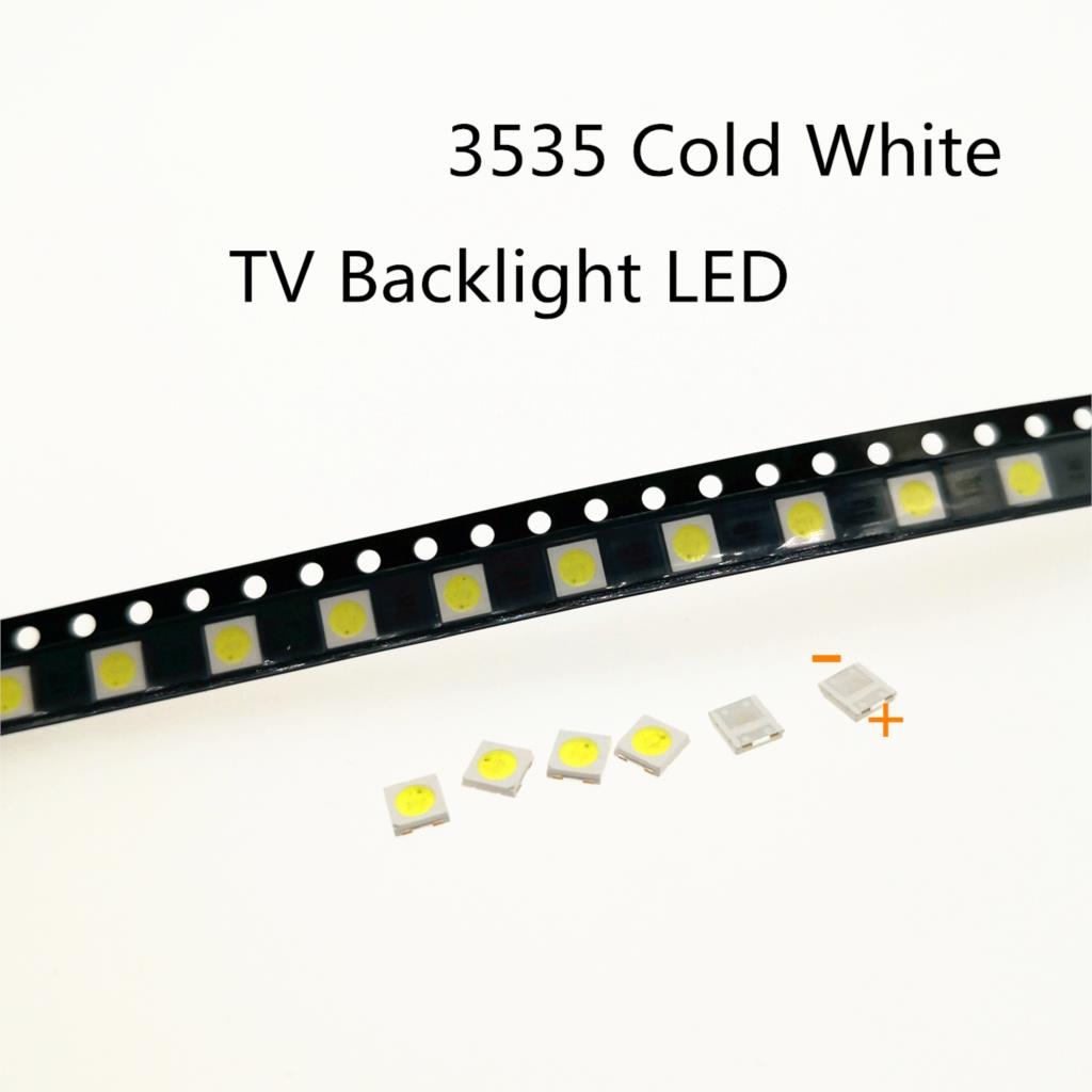 50 stücke 3535 3 V 6 V SMD LED Lampen LED TV Leuchtdioden