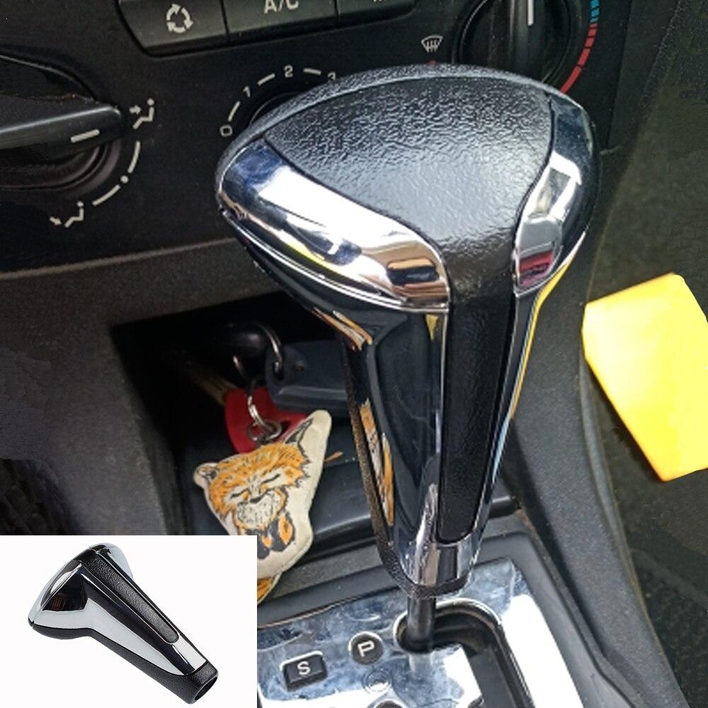 Автомобильный хромированный рычаг переключения передач для Peugeot 307 для Citroen C4 C-Triumph C-четыре Triumph Sega