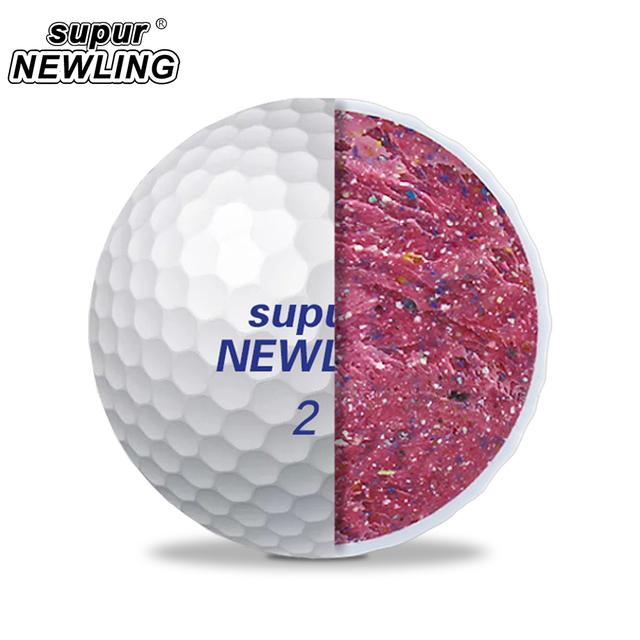 1 Box Supur NEWLING Golf Balls Supur Long Distance 2 Layers Golf Game Ball 12 pcs