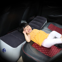 Car Bed Car Mattress Inflatable Back Seat Gap Pad Air Bed Cushion Self-driving Tour Bed Car Travel Camping Auto Car Interior цена 2017