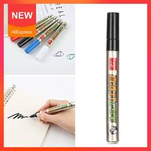 Ceramic Plastic Marker Single Headed 3.0mm Black Blue White Logstics Offer Marker Pen Hot Sale Red Colors Special Pen White A1X4
