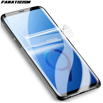 500pcs Hydrogel Film For Samsung Galaxy S20 Ultra S7 S8 S9 S10e 5G S10 Plus Screen Protector Clear Full Cover TPU Film Not Glass
