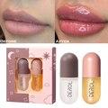 Tag Nacht Instant Volumen Lippen Praller Öl Feuchtigkeits Reparatur Reduzieren Lip Feine Linie Kosmetik Sexy Lip Plump Enhancer Make-Up