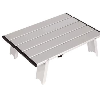 Odkryty składany stół plażowy Camping stół piknikowy przenośny stół z torba do noszenia lekki Mini składany stół piknikowy tanie i dobre opinie CN (pochodzenie)