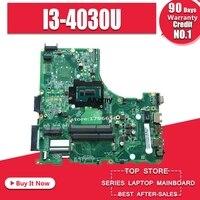 Voor For Acer V3-472 E5-471 E5-471G V3-472P Laptop Moederbord DA0ZQ0MB6E0 Met I3-4030U Cpu Onboard 100% Volledig Getest Werk Perfect