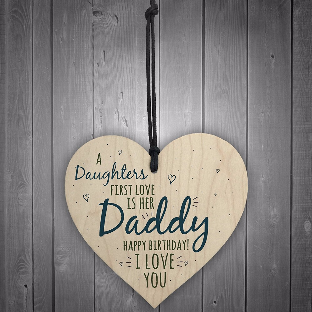 3-Meijiafei-First-Love-Daddy-Dad-Wooden-Heart-Happy-Birthday-Card-Sign-Son-Daughter-Baby-Thank-You