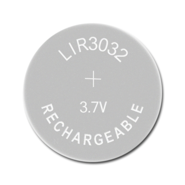 Li ion Rechargeable Battery LIR3032 3.7V 1 PCS Lithium Button Built in Coin Cell Batteries Watch Cells LIR 3032 Replaces CR3032