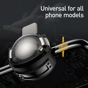 Image 4 - Baseus Pubg Controller for iPhone XR L1 R1 Gaming Trigger Pubg Mobile Gamepads Fire Button Smart Phone Mobile Shooter Controller