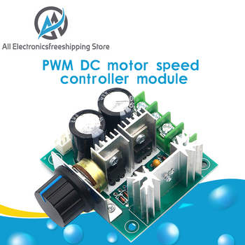 DC 12V 24V 30V 40V 13KHZ Auto PWM Motor Speed Regulator Governor Controller Switch 10A 50V 1000uF - discount item  14% OFF Electrical Equipment & Supplies