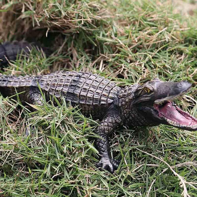 New Solid Alligator Simulation Of Wild Animal Models Crocodile Realistic Plastic Toy Model High Quality Wholesale