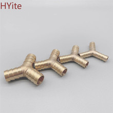 Joint-Coupler-Adapter Pipe-Fitting Barbed-Connector Copper Hose-Barb Brass 16mm 10mm