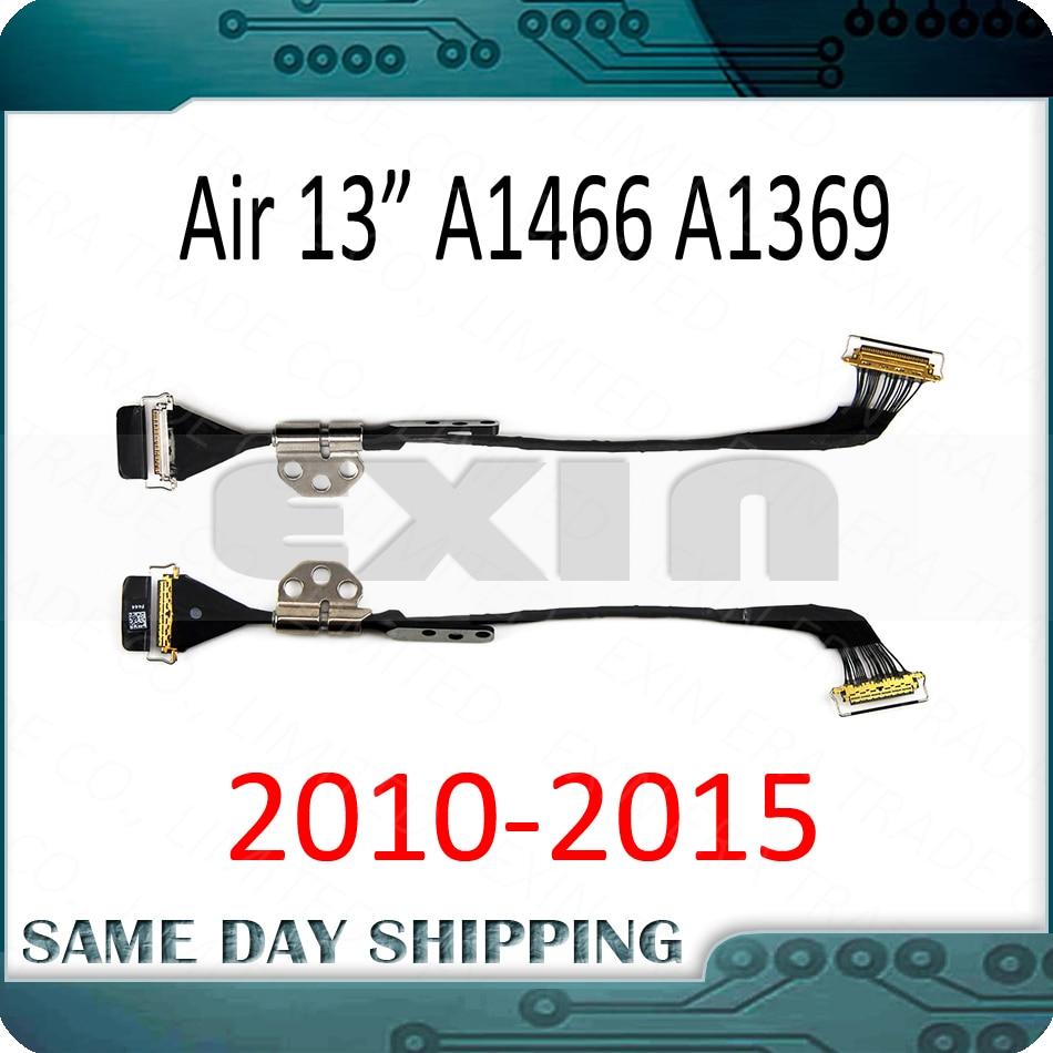 ЖК-дисплей для Macbook Air 13,3 дюйма A1369 A1466, светодиодный экран LVDs, гибкий кабель с левой петлей 2010 2011 2012 2013 2014 2015