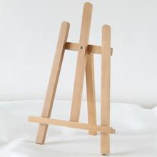 Mini Table Easel Caballete De Pintura Wooden Artist Oil Paint Stand Art Supplies for Watercolor Lienzo