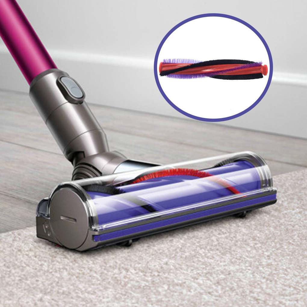 Electronic Floor Cleaner Cleaning Roller Brush Bar Replacement For V6 DC59 DC62 Vacuum Cleaner Parts