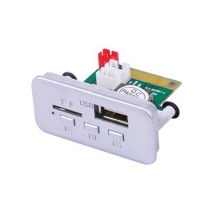 Image 2 - Kebidu 12V Mini Wireless Bluetooth 5.0 MP3 Decoder Board Audio Module MP3 WMA Support USB FM TF Radio AUX input For Car Radio