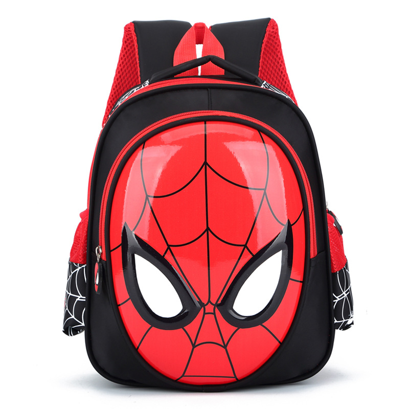 Disney New Cartoon Kindergarten Schoolbag Baby Boy Tide 3-6 Year Old Boy Cute Child Spiderman Children Schoolbag Travel Backpack