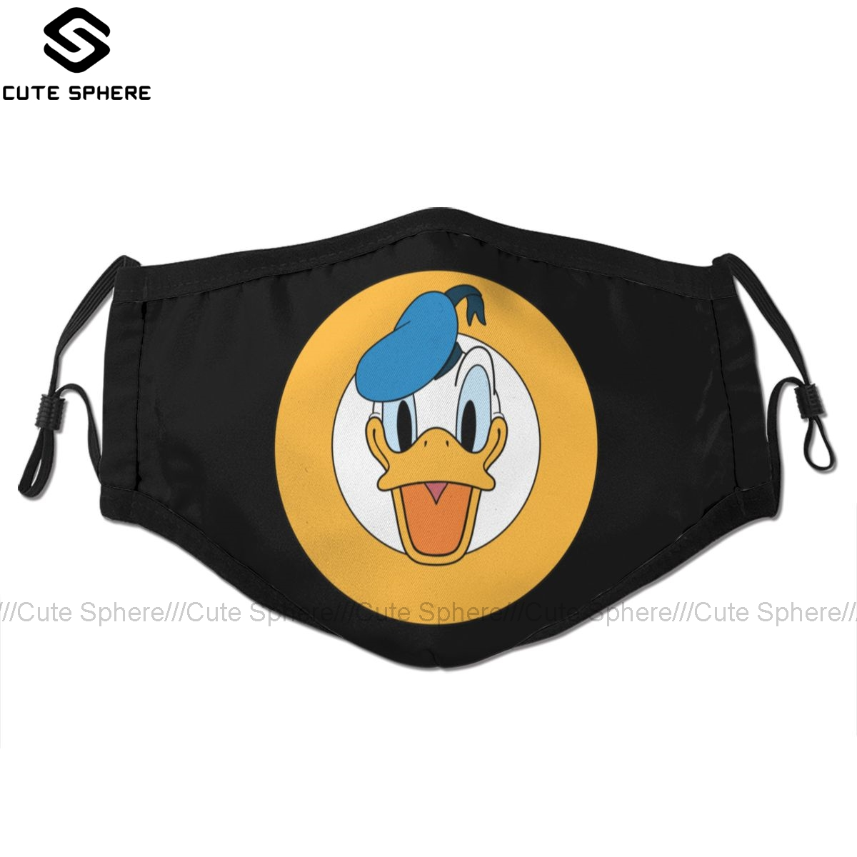Donald Duck Mouth Face Mask Donald Duck Facial Mask Funny Kawai With 2 Filters For Adult