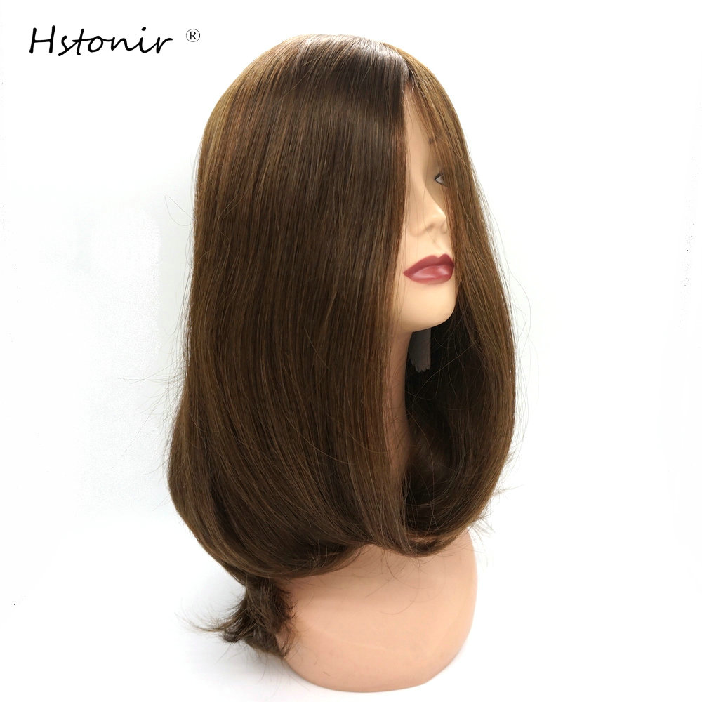 Hstonir Wigs For Women Jewish Kosher Wig Peruka European Wigs Judaico Ebraico Silk Top Highliter JW03