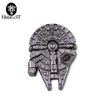 Stormtrooper Bros Pin Darth Vader Aliansi Pemberontak Falcon Bros Lencana Kerah Pin Pria(China)