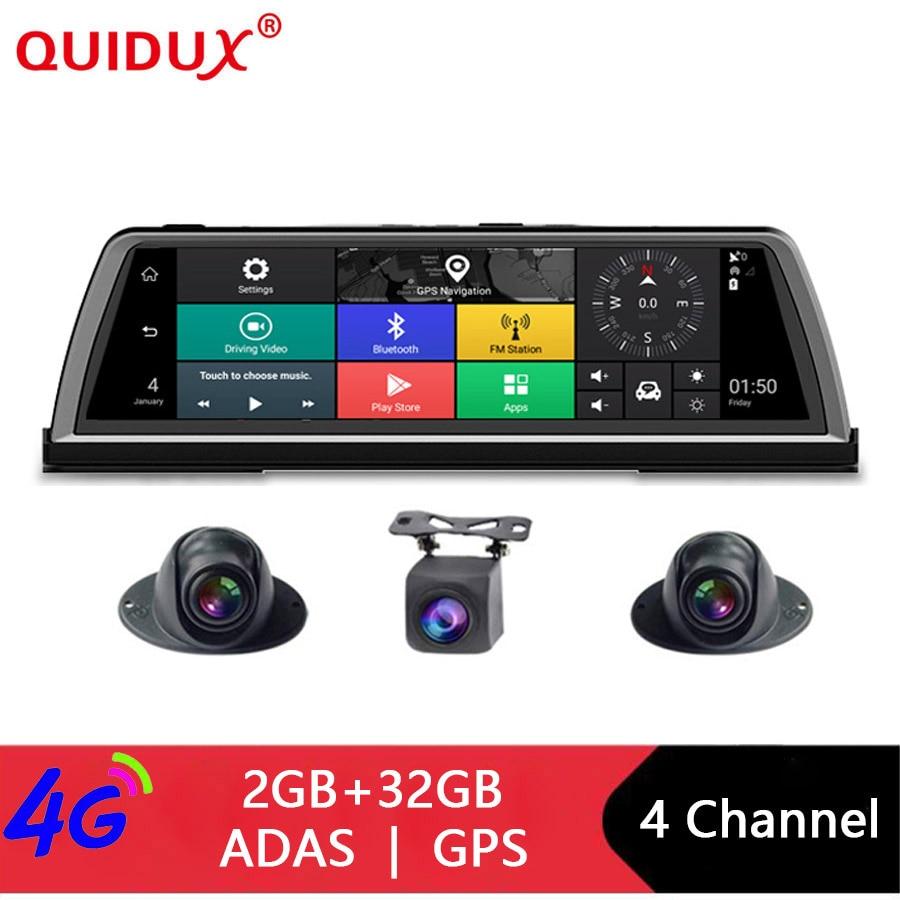 4CH QUIDUX 360-graus panorâmica lente Câmeras 10