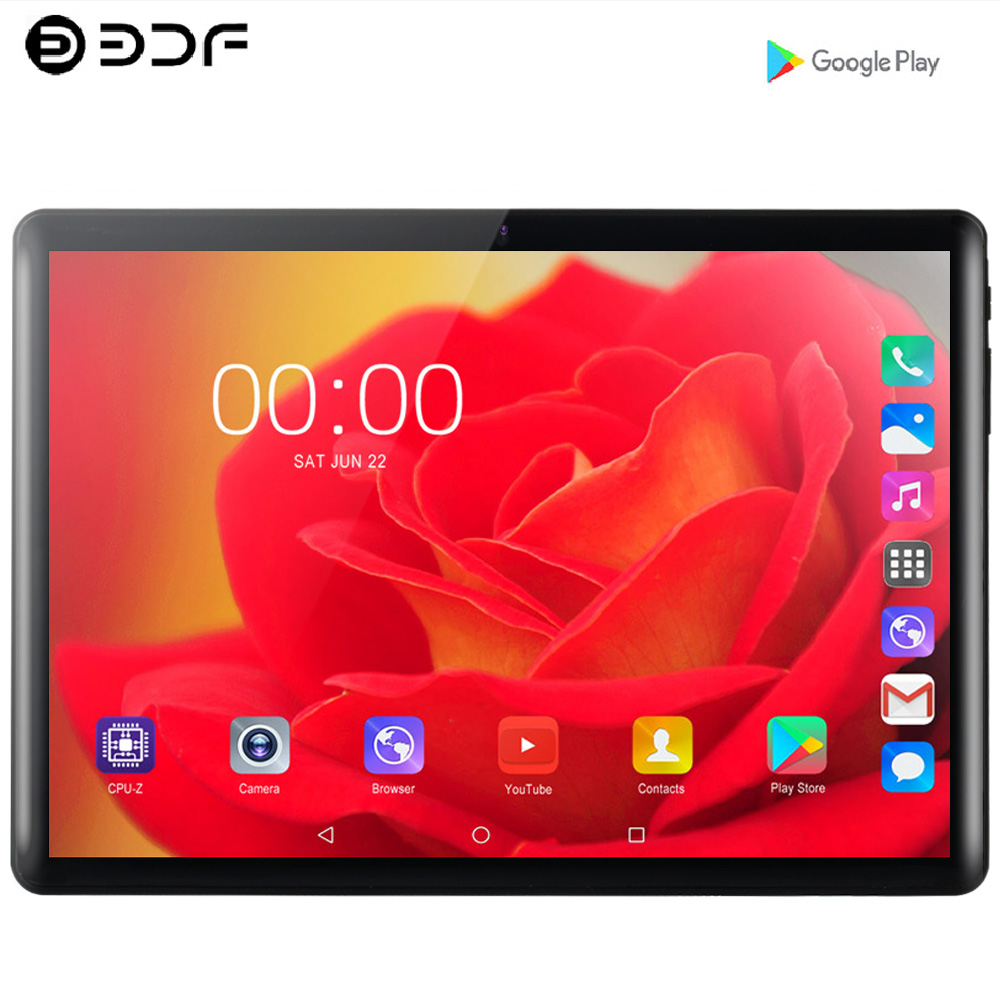 10.1 Inch 3g 4g Mobile Sim Card Phone Call Android 7.0 Tablet Pc Android 7.0 Tablet Pc 4GB+64GB Octa Core Google Play Tablets Pc